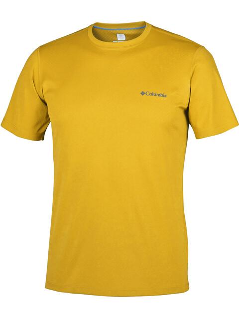 Columbia Zero Rules - T-shirt manches courtes Homme - jaune